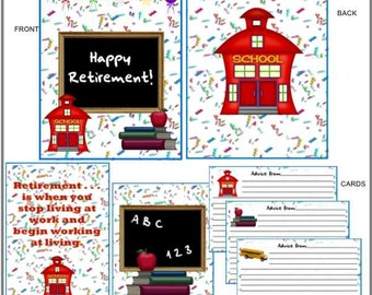 School, Teacher, Superintendent, Principal Retirement Advice Books