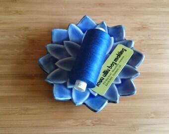 SEWING THREAD Royal Blue Medium Blue Moon polyester thread - 1 spool - All Purpose Sewing Thread - Coats Moon Thread - Colour - M001