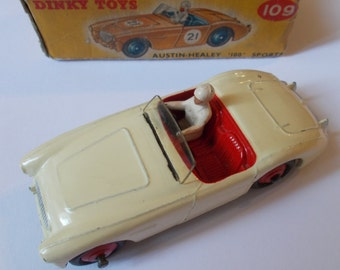 Dinky 109 Austin Healey (Competition) 1955