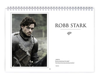 Game of Thrones - Robb Stark Special 2018 Calendar