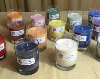 Color Therapy Soy Candles - 13 ounce