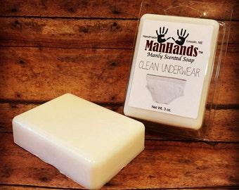 Clean Underwear Scented Soap 3 oz. Bar