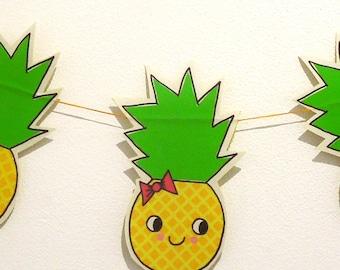 Pineapple fabric Garland