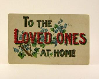 Vintage Christmas Postcard - 1900's