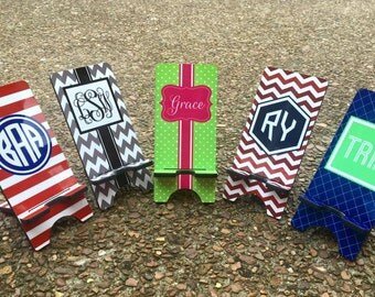 Personalized / Monogrammed Mobile / Cell Phone Stand