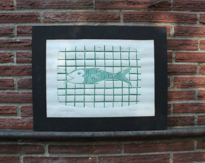 Fish For Dinner Print