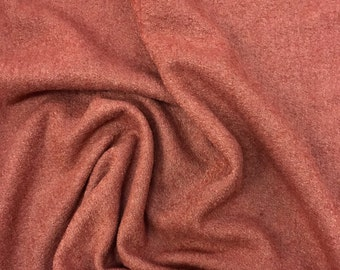 Burnt Sienna Boiled Wool