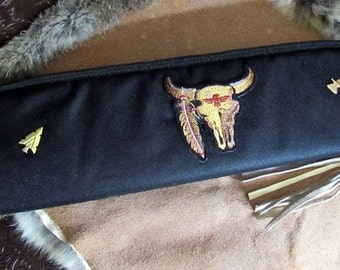 Custom Knife Zipper Case - Southwestern