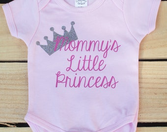 Mommy's Princess - Take Home Outfit - Matching Mommy and Baby - Trendy Baby Girl Clothes - Hospital Outfit - Big Sister Little Sister Outfit
