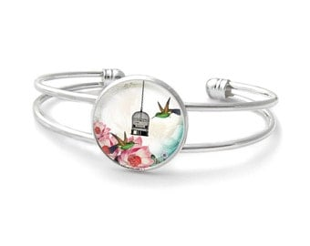 Hummingbirds bracelet