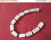8mm Selenite Beads strand - SB24