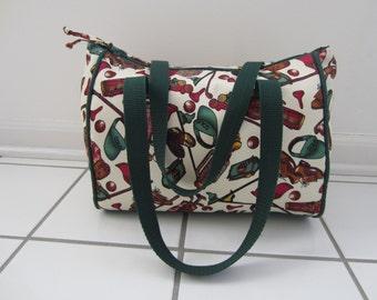 Golf Duffle Bag-Lady Purses -Golf Purses- Green Handbags