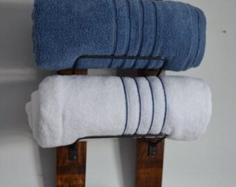 Towel Rack with towel bar option