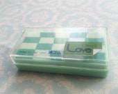 Eraser Chek Love Lemon Co Japan Vintage 1980s
