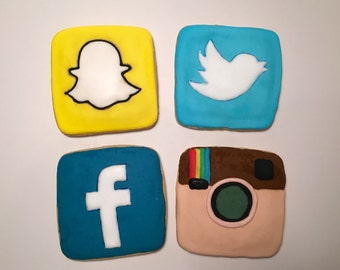Social Media Theme Cookies