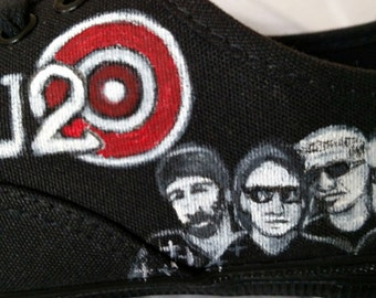 Your Favorite Band Hand  Painted Shoes