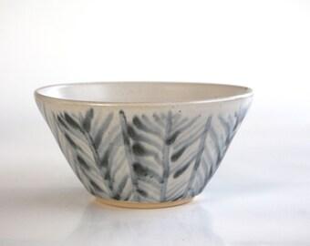 ceramic bowl soup Tonkinese , handmade