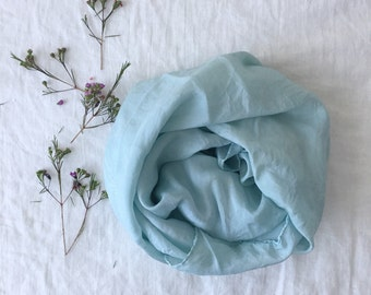 Sky Blue Play Silk ~ Naturally Dyed with Indigo Flowers
