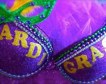 Mardi Gras Costume Bra
