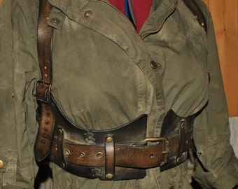 wasteland leather harness