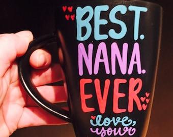 Nana- grammy- mimi mug- i love mimi - i love nana mug - Mother's Day gift- Gifts for Grandma- Gifts for Mom- Gifts for Grammie Nana Mimi Mom