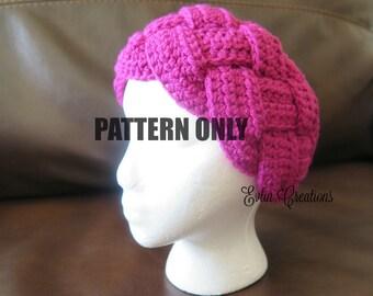 Braided Ear Warmer Crochet Pattern, Earwarmer Crochet Pattern, Braided Earwarmer Pattern, Braided Headband Crochet Pattern, Crochet Headband