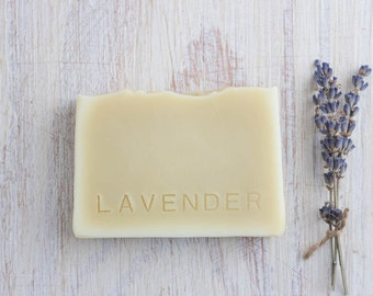 Lavender, handmade cold process soap