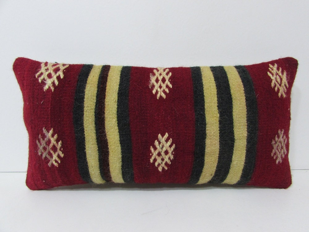 Decorative Pillows Kilim : lumbar throw pillow kilim pillow bed pillow sham primitive