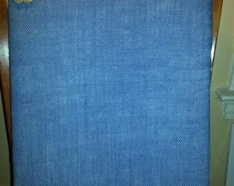 TREASURE BOARDS (Burlap in Bloom - Blue)