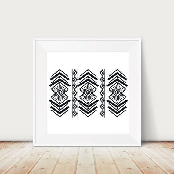 Tribal Printable I Geometric Printable I Printable I Gallery Wall I Hipster I Office I Printable I Office Decor