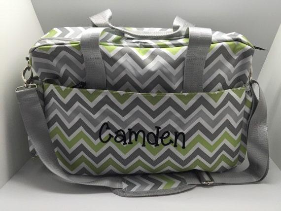 monogram diaper bag personalized baby boy diaper bag baby. Black Bedroom Furniture Sets. Home Design Ideas