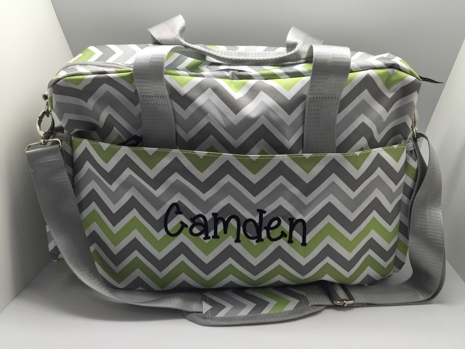 monogram diaper bag personalized baby boy diaper bag baby. Black Bedroom Furniture Sets. Home Design Ideas