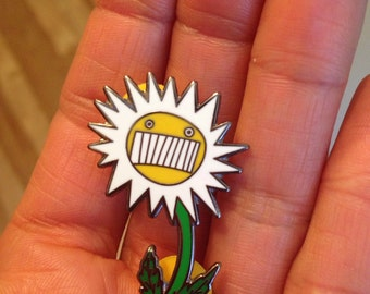 Ween Push Th' Little Daisies pin hard enamel