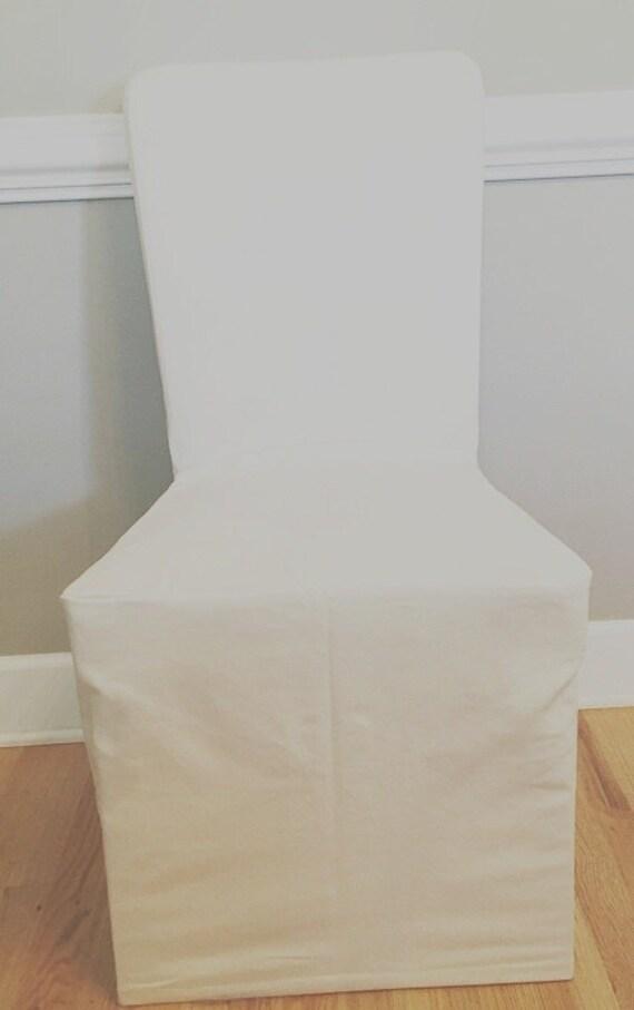 Megan Chair Long Skirt Slipcover