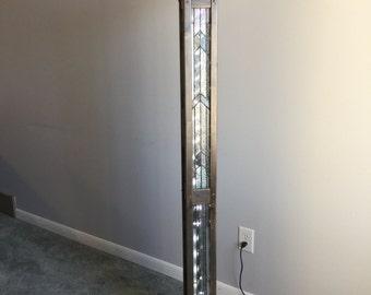 misson style floor lamp