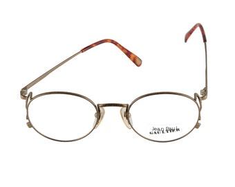 Jean Paul Gaultier Eyeglasses Mod 55-3178 22KGP 48-20-135 Made in Japan