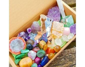 Specific mineral box
