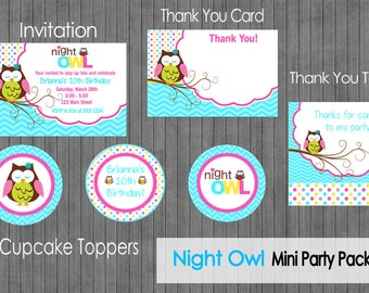 Night Owl Party Package