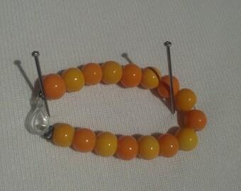 Yellow Orange Ring