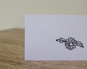 Flower Mini Stationery!