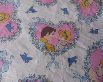 Disney Sheets, Disney Princess, Princess Bedroom, Cinderella, Sheets, Twin Bedding, Linen Bedskirt, Twin Sheets, Twin Bedskirt, Flat Sheet