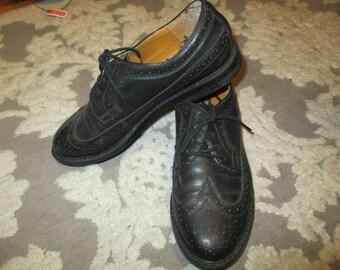 Vintage Black Oxford size 10 woman