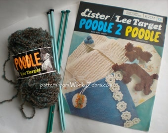 Poodle and Baby Blanket knitting pattern 046 From WonkyZebra
