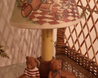 Bear Lamp with Bear Shade