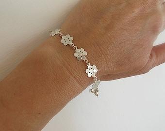 Jewelry, Bracelet,Silver bracelet, Israel jewelry,Small bracelet,Minimal bracelet, Simple bracelet