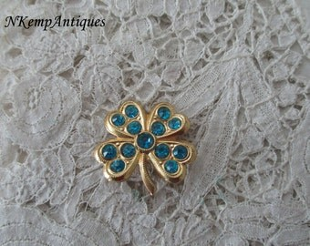 Four leaf clover brooch 1930's
