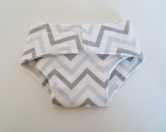 Flannel Doll Diapers