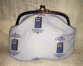 Large Dr Who Tardis Coin Purse