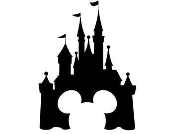 Disney Castle Decal | Disney Decal | Disney Castle Sticker | Disney Castle Vinyl Decal | Disney Vinyl Decals
