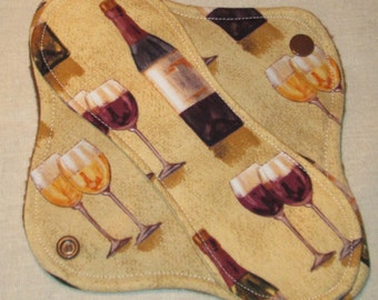 Wine Lovers 8 in. Light Cloth Pad